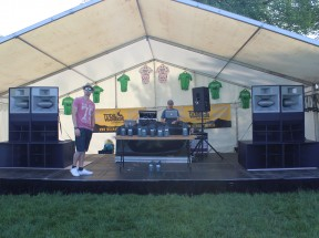 Outdoor PA hire